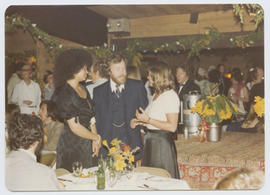 Jan Zora, Bob Currie and Debbie [Barns] at the Freakers' Ball