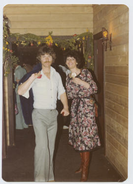 Burt Beattie and Joanne Laforce at the Freakers' Ball