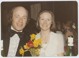 Franz Carpay and his wife at the Freakers' Ball