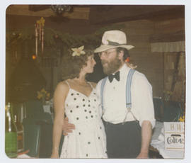 Jan Simpson and Doug Schull at the Freakers' Ball
