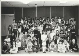 Myrtle Philip Elementary School class photo