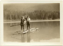 Jean and Rhi on Lost Lake