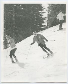 Pierre Trudeau Skiing at Whistler 1971