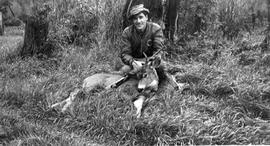 Bob Jardine with his kill