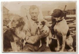Sewall Tapley and dogs