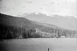 Alta Lake with Whistler Mountain in the background