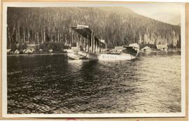 First aircraft to land on Alta Lake