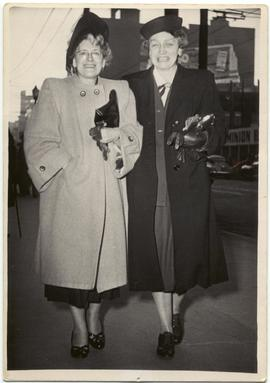 Mollie Hunt and Myrtle Philip