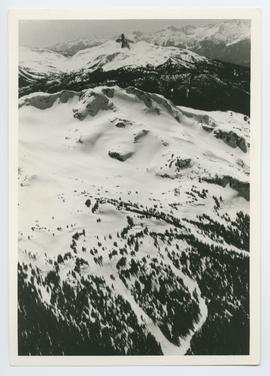 Aerial View of Top of Whistler Mountain