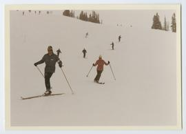 Ski Instructor Leading Students