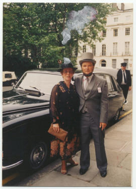 Paul and Jane Burrows in London, England