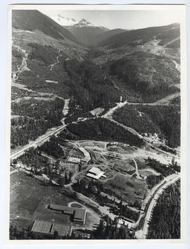 Aerial of Whistler Village
