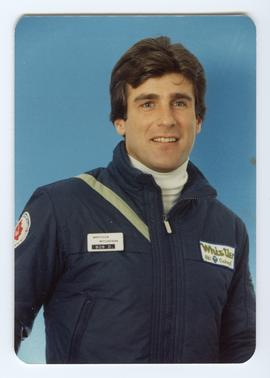 Bob Dufour in Whistler Ski School Uniform