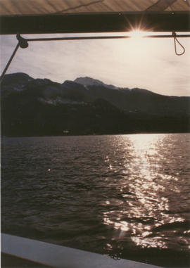 View of Alta Lake from a Sailboat