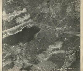 Aerial photograph of Alta Lake