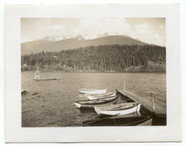 Alta Lake from Rainbow Lodge June 1944