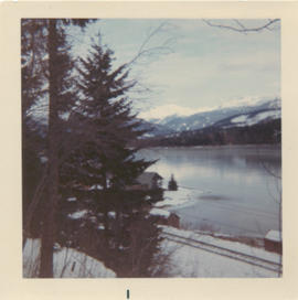 View from Myrtle's House Christmas 1968