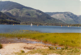 Windsurfing on Alta Lake