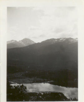 Alta Lake From Above July 1941