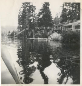 Hillcrest Lodge from Alta Lake