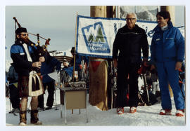 Franz Wilhelmsen and Lorne Borgal at Franz's Run Dedication Ceremony