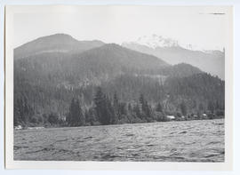 View of Whistler Mountain from Alta Lake
