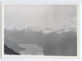 View of Cheakamus Lake from Whistler Mountain