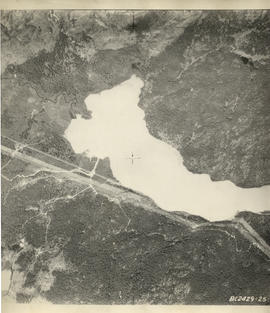 Aerial photograph of Green Lake